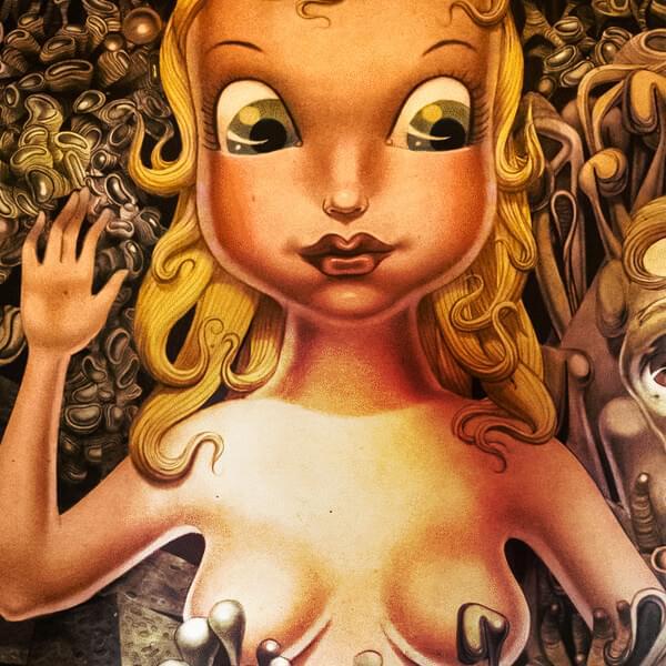 Miss Ko - doll illustration